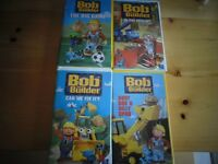 Selected Bob The Builder VHS Tapes