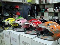 VENTE CASQUE MOTOCROSS VTT SCOOTER $59.99! MINI MOTO DEPOT