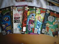 Collection of 9 Different Ralph Snart Comic Books