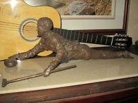 """Sandra Schmirler Large Bronze Sculpture 30"""" x 12"""""""