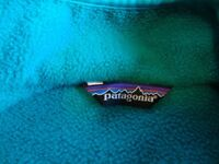 Vintage 1980's Teal Patagonia Fleece Jacket in Great Condition