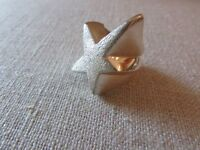 sterling silver star ring