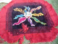 Crochet sur Canevas laine