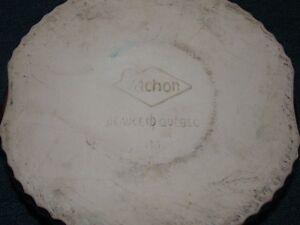 Boîte à gateau marque Vachon en céramique de Beauce