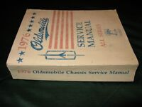 1976 OLDSMOBILE SERVICE MANUAL ALL SERIES....BOOKS