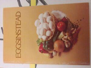 Eggsinstead, Recipes and Cookbook
