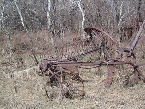 Antique farm items