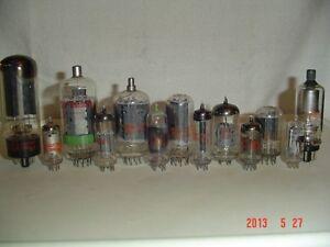 VACUUM TUBES 6JZ8, 12HG7, 6GF7A, 6BZ6, 6CL3, 6EW6, 6GU7 & 6JH6, Windsor Region Ontario image 2