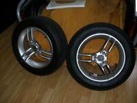 roues avant de spyder