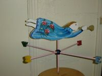 FOLK ART ANGEL WEATHER VANE
