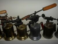 Collectable Vintage Plumbing Torches $35.00 and up