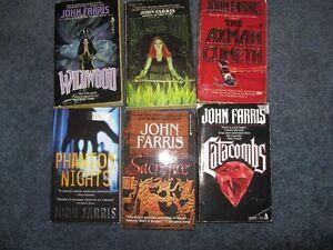 John Farris books $1each or $5 for the lot