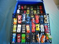 48 Dinky Cars With Carrying Case