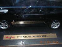 "1999  DieCast Metal ""GT"" Model MUSTANG CONVERTIBLE CAR new"
