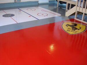 Epoxy Flooring, Acid Stain, Garage, Basements & Driveways Edmonton Edmonton Area image 9