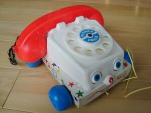 Vintage 1960's Fisher Price Chatter Telephone #747 Pull Toy Kitchener / Waterloo Kitchener Area image 2