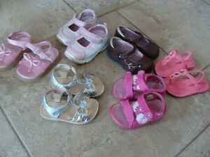 6 pair of shoes - size 4