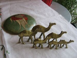 BRASS CAMELS .