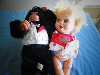 Doll and Gorilla Dolls