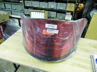 NEW POLARIS EDGE 1999-10 COBRA WINDSHIELD RED CHROME
