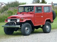 Wanted toyota land cruiser parts