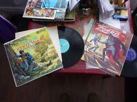 LP Les aventures de Zorro + Stories And Songs Of The Civil War