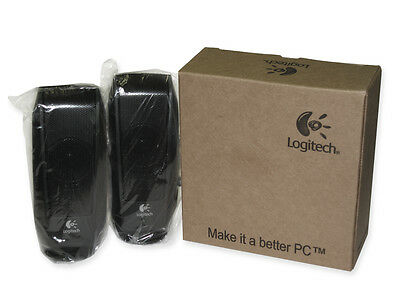 Logitech S120 Powered Multimedia Stereo Speakers Part # 980-000012
