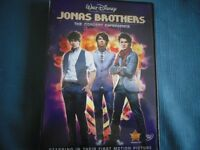 Disney's The Jonas Brothers The Concert Experience on DVD