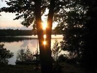 Chalet a louer au bord du Lac dans les laurentides