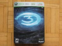 HALO 3 LIMITED EDITION GAME - XBOX 360 - COLLECTORS ITEM