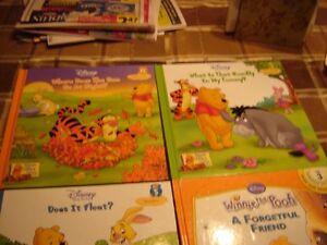 WINNIE THE POOH CHILDREN'S BOOKS & VHS/TOYS/KID'S BOOKS & VHS