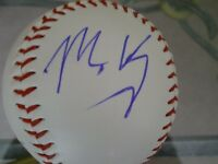 Matt Kemp Autographed Baseball