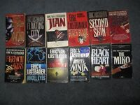 Eric Van  Lustbader books $1 each or $10 for the lot