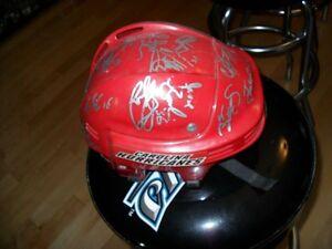 Hockey Carolina Hurricanes Team Signed Helmet or Bobblehead
