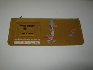 QUICK DRAW McGRAW PENCIL CASE ** VINTAGE **