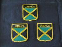 Jamaica Iron-On Patches (3)
