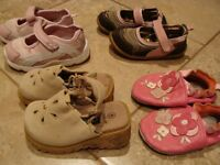 6 pairs of shoes - size 5