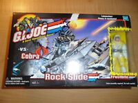 2001 Hasbro G.I. Joe Vs Cobra Rock Slide Toy (New In Box)