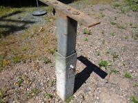 Galvanized Steel supports