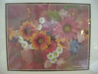Flower Mosaics photo art by W.Alkins 2002, still in plastic wrap