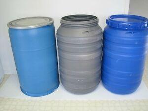Wanted >>> REMOVABLE LID 45ga/200L  Plastic Barrels.