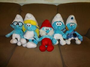 Smurf Family Stuffed Toys $45