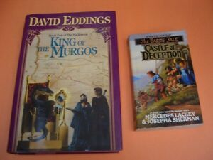 KING OF THE MURGOS (HARDCOVER) AND THE CASTLE OF DECEPTION