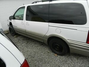 CHEVY VENTURE PONTIAC MONTANA TRANSPORT MINIVAN ALL PARTS