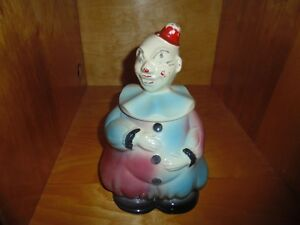 Old Clown Cookie Jar
