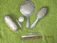 Sterling Vanity Set