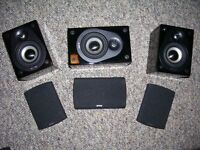 ENERGY RC-Micro speakers (front/center/rear)