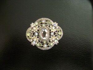 antique-look brooch