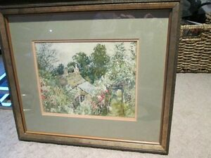 Watercolour, Signed and Beautifully Framed Kitchener / Waterloo Kitchener Area image 1