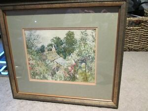 Watercolour, Signed and Beautifully Framed